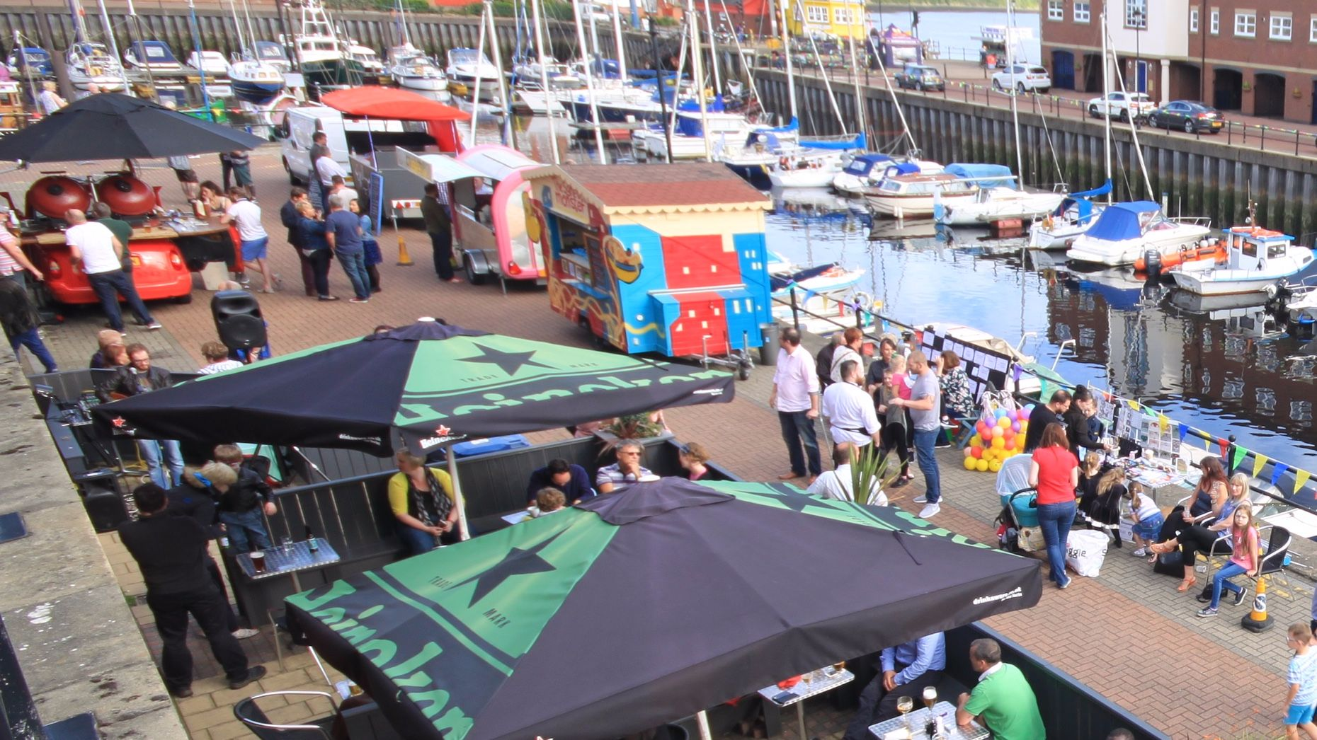 St. Peter's Fete, St. Peter's Wharf and St. Peter's Marina, Newcastle