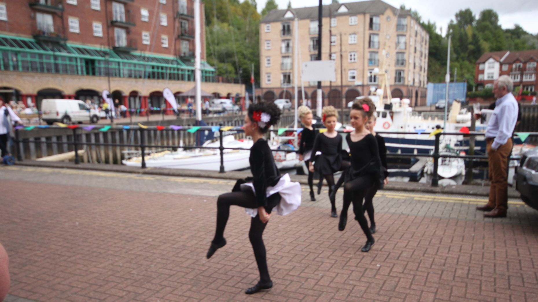 Irish Dancing/ St. Peter's Fete, St. Peter's Wharf, St Peter's Basin, Newcastle upon Tyne