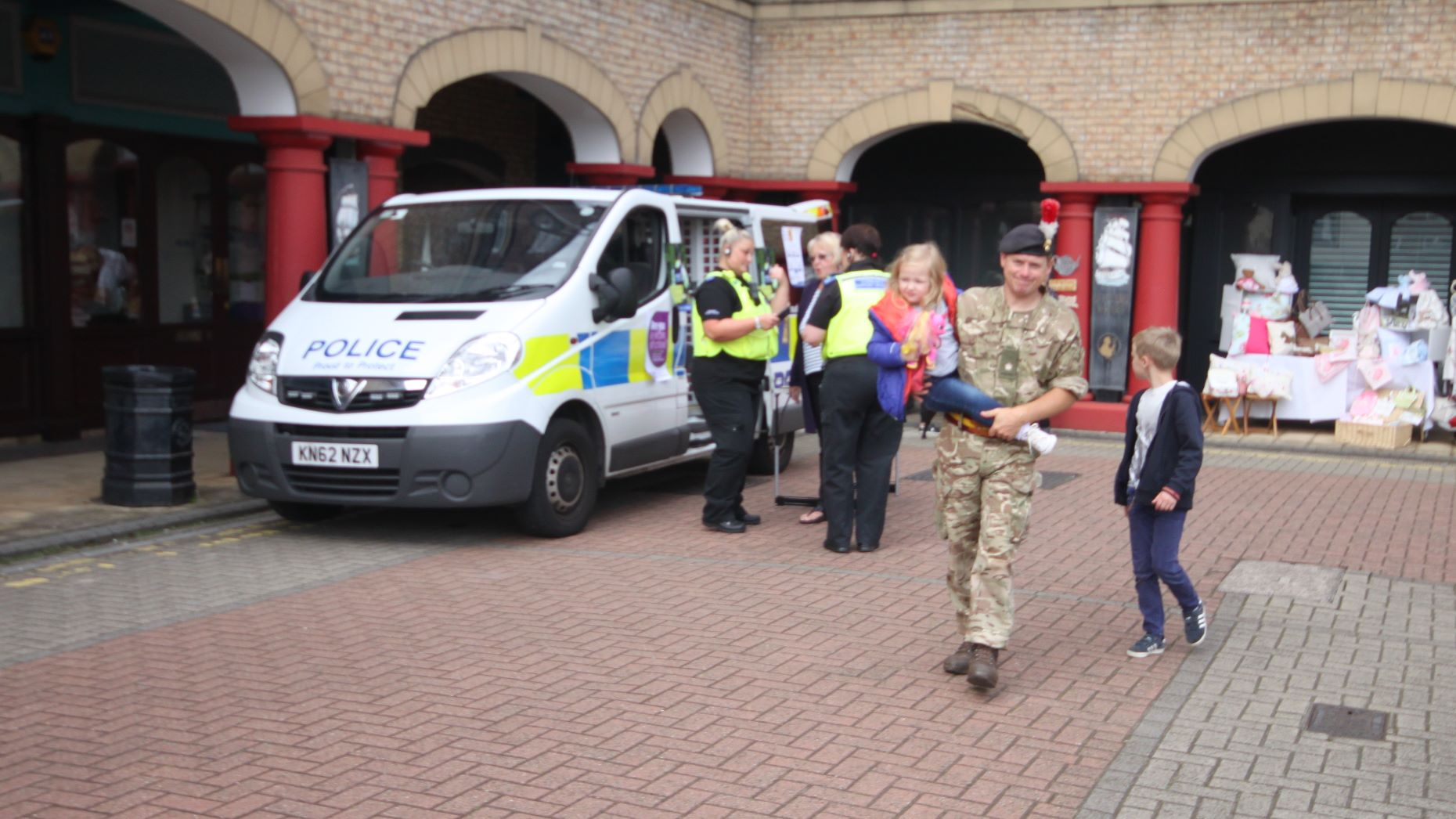 Fifth Fusiliers and Northumbria Police, St Peter's Fete